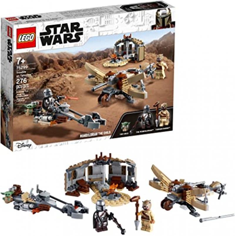 [2021新款] 樂高星球大戰 LEGO Star Wars: The Mandalorian Trouble on Tatooine 75299 (277 Pieces) $23.99(原價$29.99)