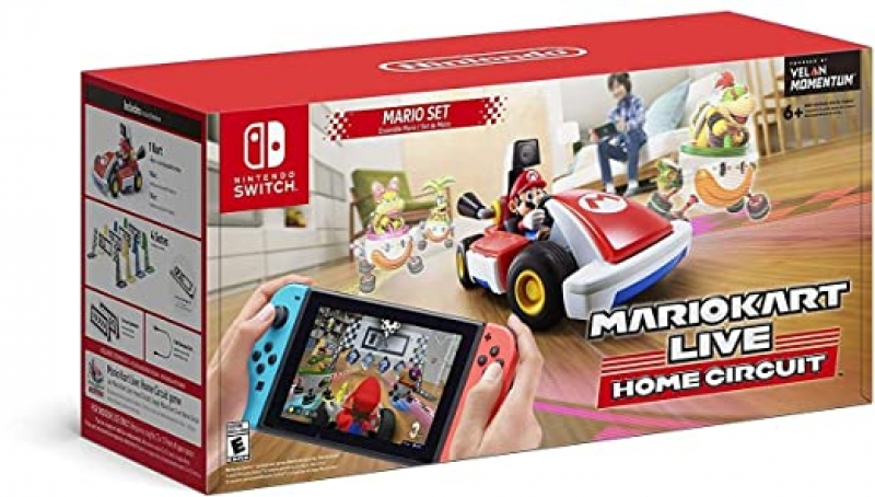 ihocon: Mario Kart Live: Home Circuit -Mario Set - Nintendo Switch Mario Set Edition