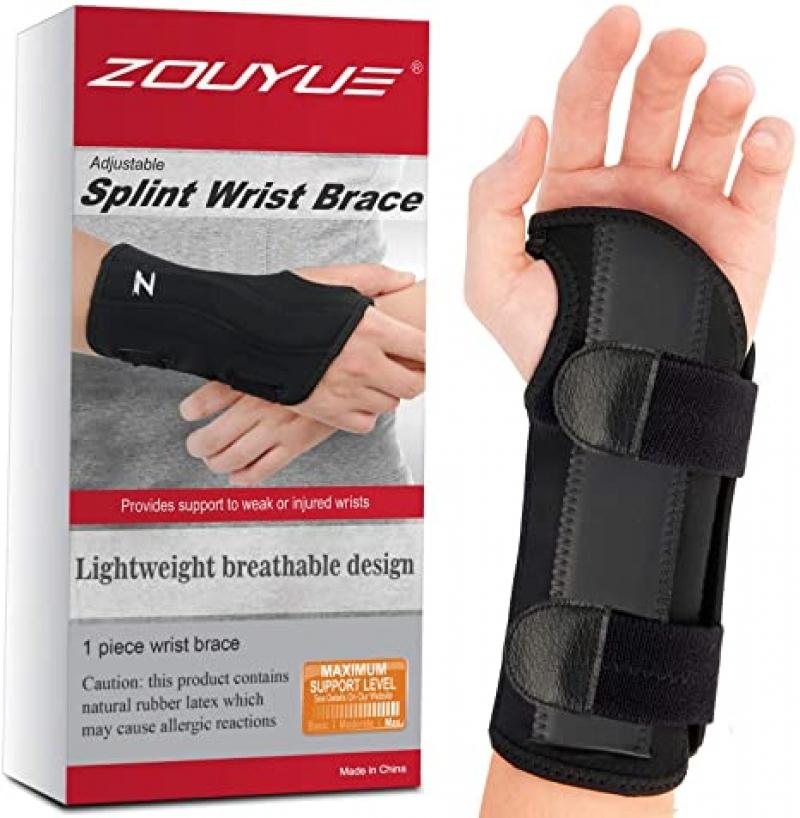 ihocon: ZOUYUE Carpal Tunnel Wrist Brace 手腕固定支架(腕隧道症候緩解)