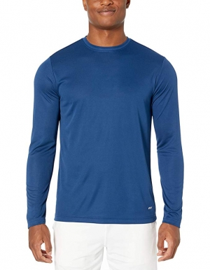 ihocon: Amazon Essentials Men's Performance Tech Long-Sleeve T-Shirt  男士長袖衫