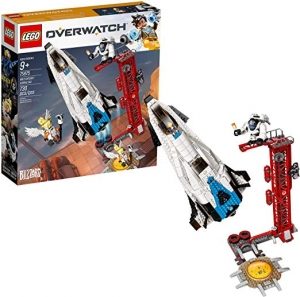 [新低價] LEGO樂高積木Overwatch Watchpoint: Gibraltar 75975 (730 Pieces) $52.99免運(原價$89.99)
