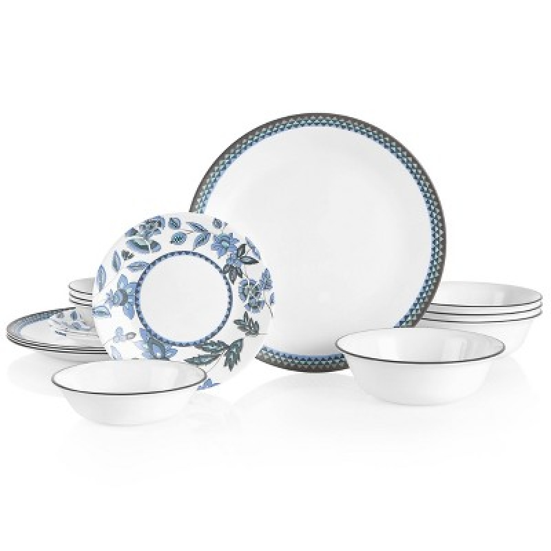 ihocon: Corelle 16pc Vitrelle Veranda Dinnerware Set 康寜四人份餐盤組
