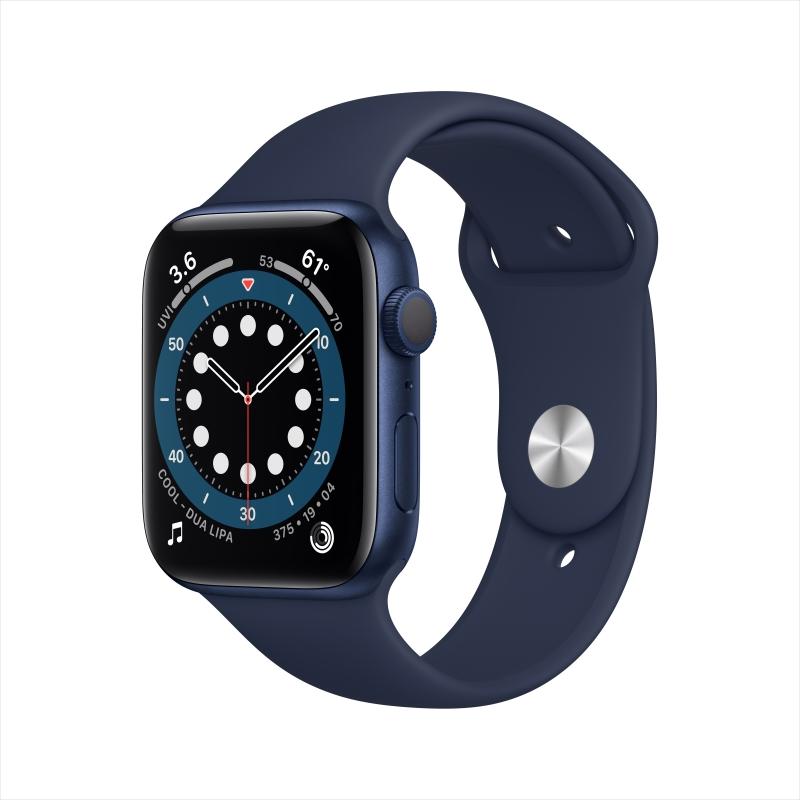 ihocon: Apple Watch Series 6 GPS, 44mm - 多色可選