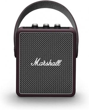 ihocon: Marshall Stockwell II Portable 便攜藍芽 Speaker - Burgundy