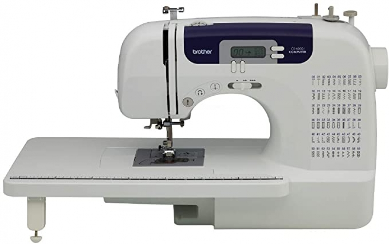 ihocon: Brother Sewing and Quilting Machine, CS6000i, 60 Built-in Stitches, 2.0 LCD Display, Wide Table, 9 Included Sewing Feet 縫紉機