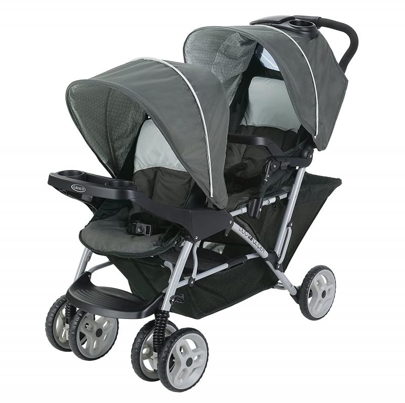 ihocon: Graco DuoGlider Double Stroller, Lightweight輕便雙人嬰兒車