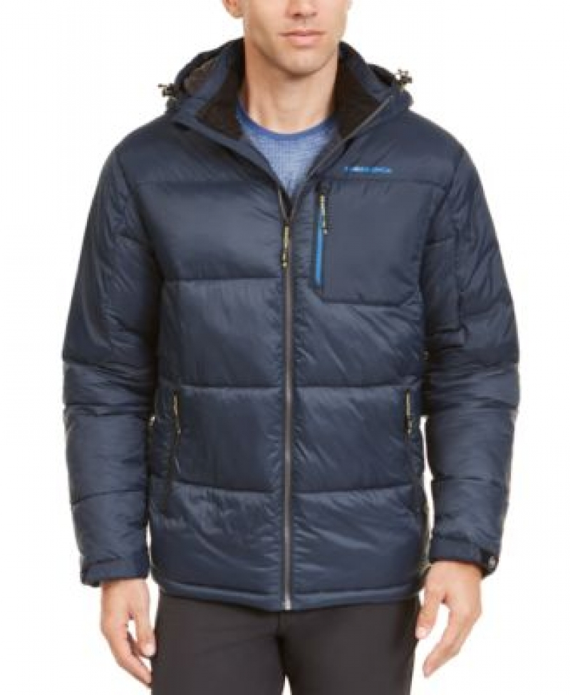 ihocon: Hawke & Co. Outfitter Men's Puffer Jacket 男士連帽夾克-多色可選