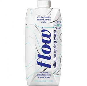 ihocon: Flow Alkaline Spring Water - 100% naturally alkaline spring water in eco-friendly packaging - (Pack of 12 x 500ml) 天然鹼性礦泉水