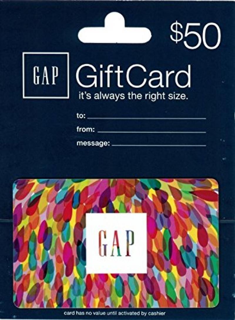 ihocon: $50 Gap Gift Card 只賣$40