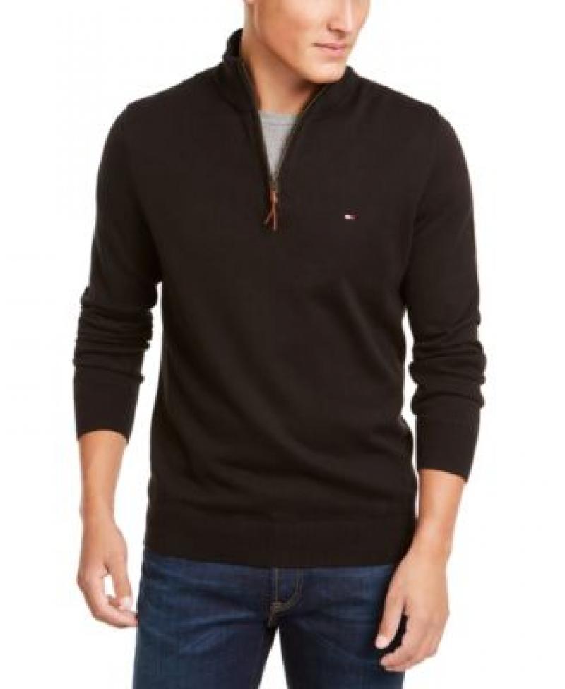 ihocon: Tommy Hilfiger Men's Quarter-Zip Sweater  男士毛衣 - 多色可選