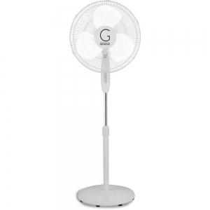 ihocon: Genesis 16 in. Standing Fan, Adjustable Height, Oscillating 可調高度立式風扇