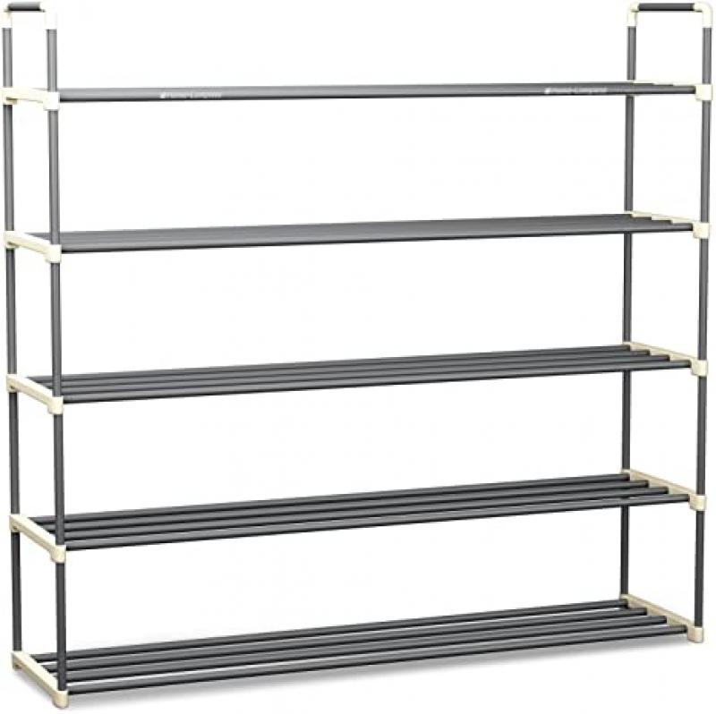 ihocon: Home-Complete Shoe Rack with 5 Shelves-Five Tiers 五層鞋架