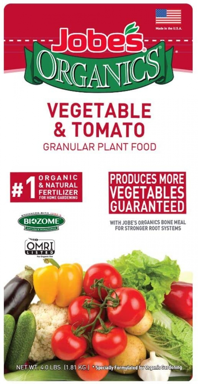 ihocon: Jobe's Organics 9026 Fertilizer, 4 lb 有機蔬菜番茄肥料