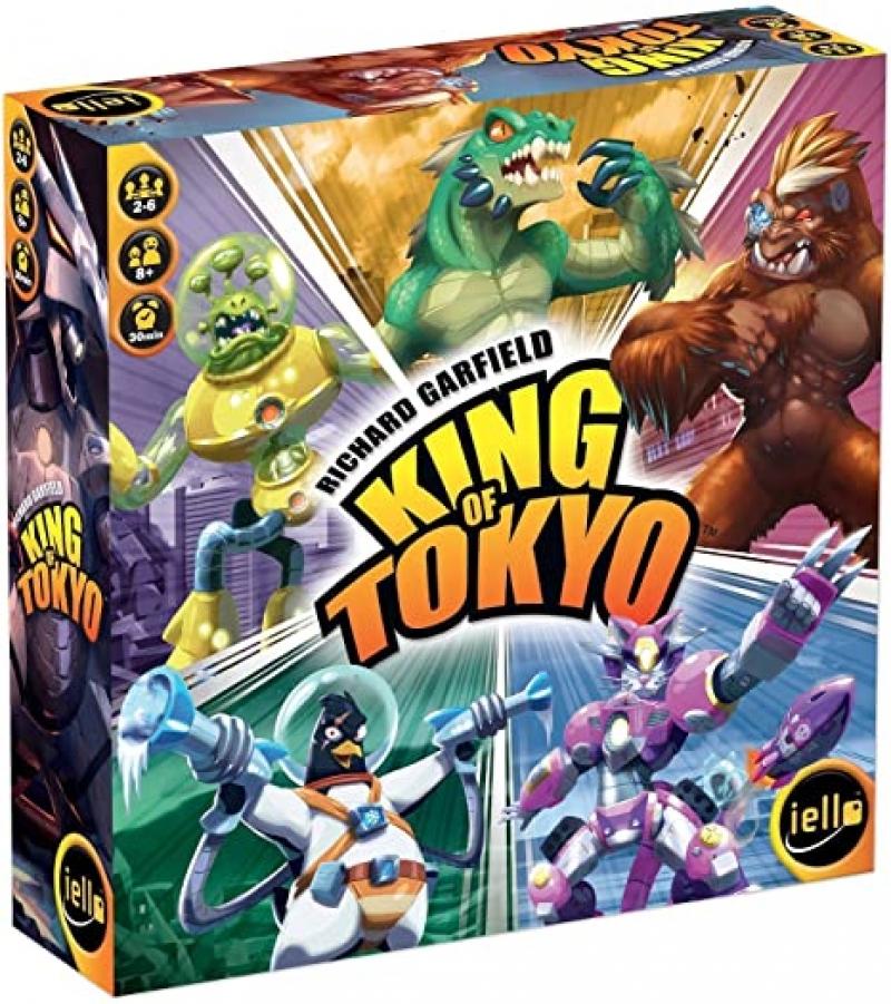 ihocon: 桌遊 - King of Tokyo: New Edition