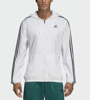 ihocon: adidas Essentials 3-Stripes Wind Jacket Men's 男士夾克