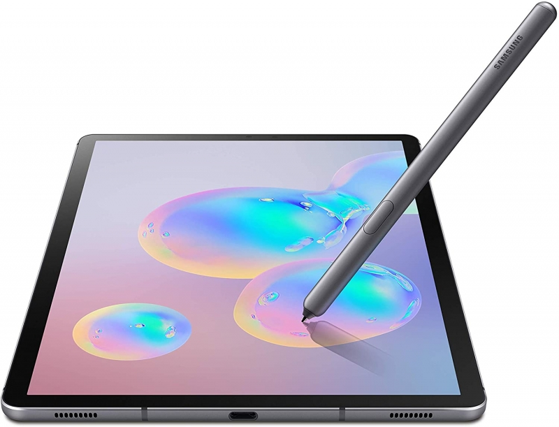 ihocon: SAMSUNG SM-T860NZALXAR Galaxy Tab S6 10.5吋, 256GB Wifi Tablet Mountain Gray 平板電腦