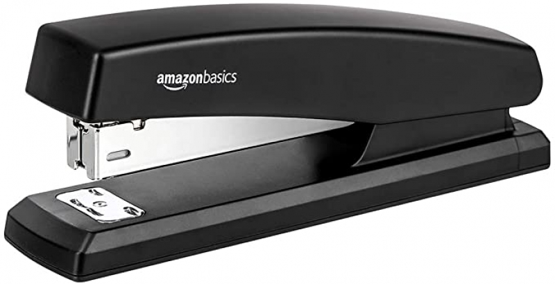 ihocon: AmazonBasics 10-Sheet Capacity with 1000 Staples訂書機