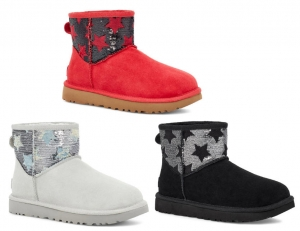 ihocon: UGG® Classic Mini Sequin Stars Boot 亮片迷你靴