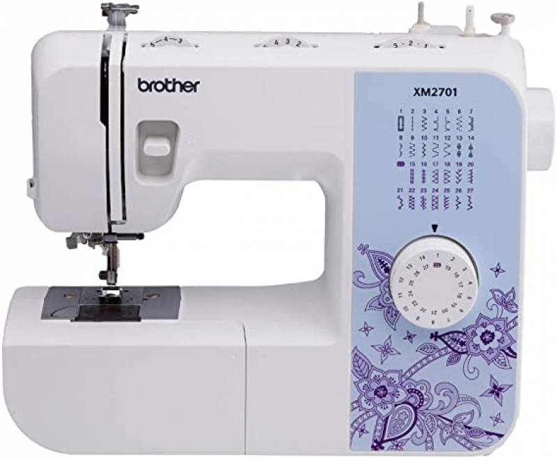 ihocon: Brother XM2701 Sewing Machine, Lightweight, Full Featured, 27 Stitches, 6 Included Feet  縫紉機