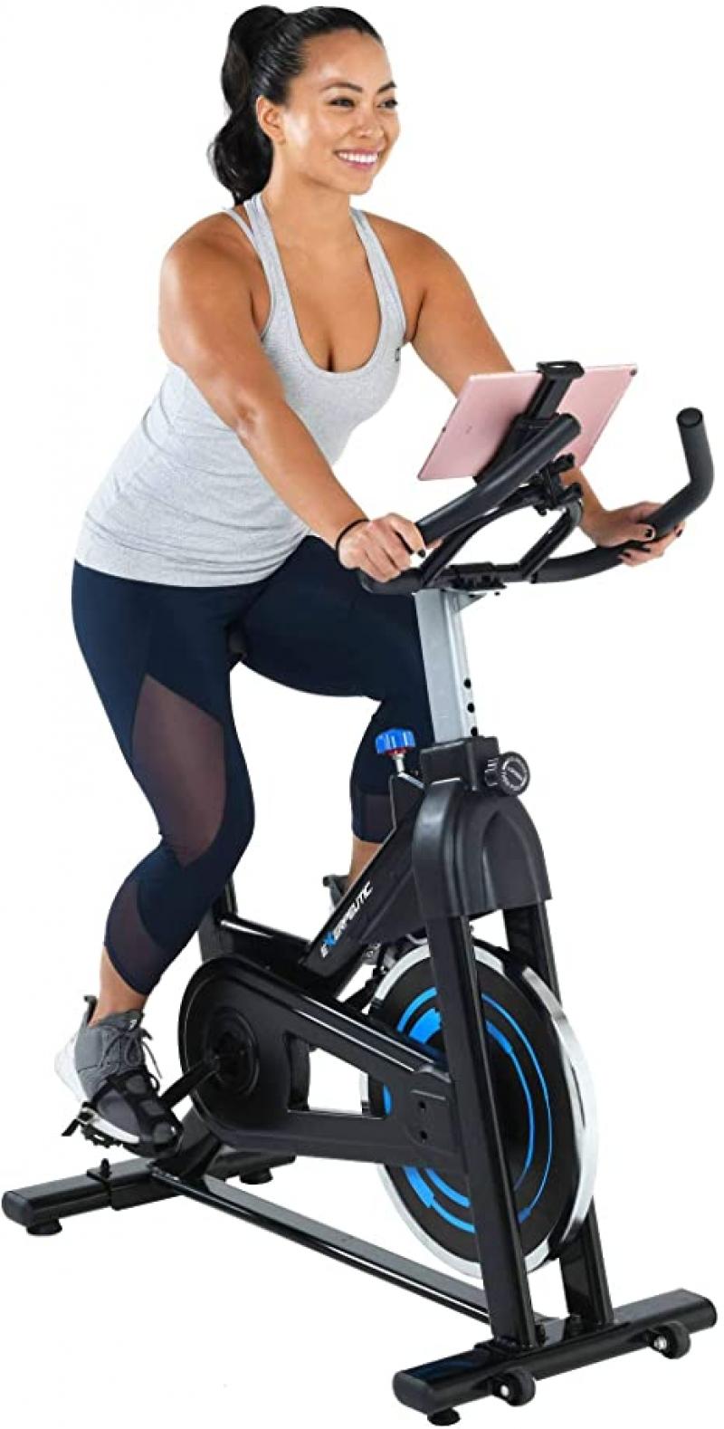 ihocon: Exerpeutic Bluetooth Indoor Cycling Bike with MyCloudFitness App 室內健身自行車
