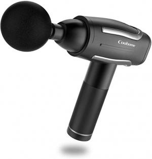 ihocon: Coohome Percussion Massage Gun w/ 6 attachments 深層按摩槍, 含4個按摩頭