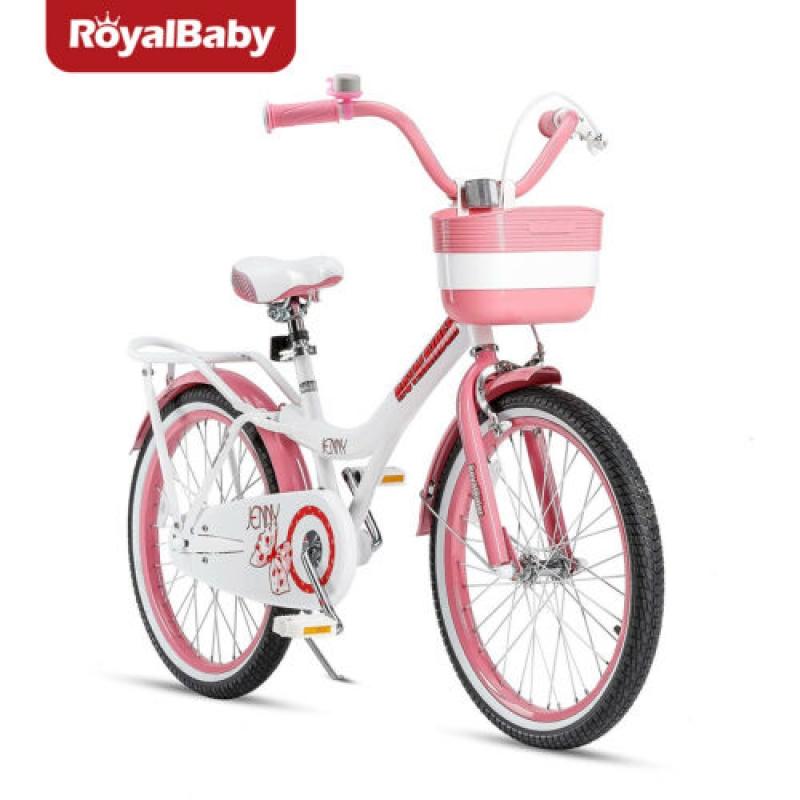 ihocon: RoyalBaby Girls Bike Jenny 20 Inch Bicycle 9 Years Old Basket Training Wheels 20吋自行車