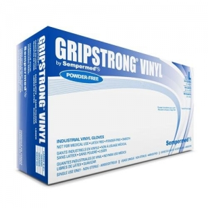 ihocon: Sempermed GSVF105 GripStrong Vinyl Glove, Powder-Free, X-Large, Clear (Case of 1000)  一次性手套