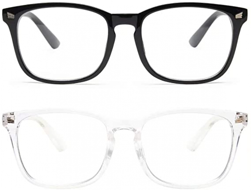 ihocon: livho 2 Pack Blue Light Blocking Glasses 抗藍光眼鏡-多色可選