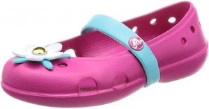 ihocon: Crocs Kids' Girls Keeley Charm Flat Mary Jane 童鞋