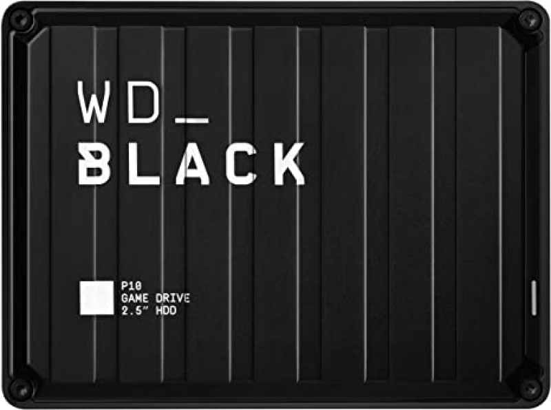 ihocon: WD_Black 2TB P10 Game Drive, Portable External Hard Drive Compatible with Playstation, Xbox, PC, & Mac 遊戲外接硬碟