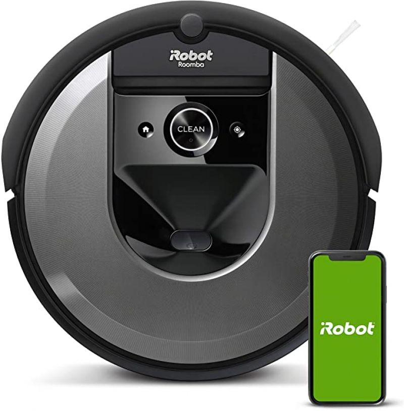 ihocon: iRobot Roomba i7 (7150) Robot Vacuum- Wi-Fi Connected, Smart Mapping, Works with Alexa 智能吸地機器人