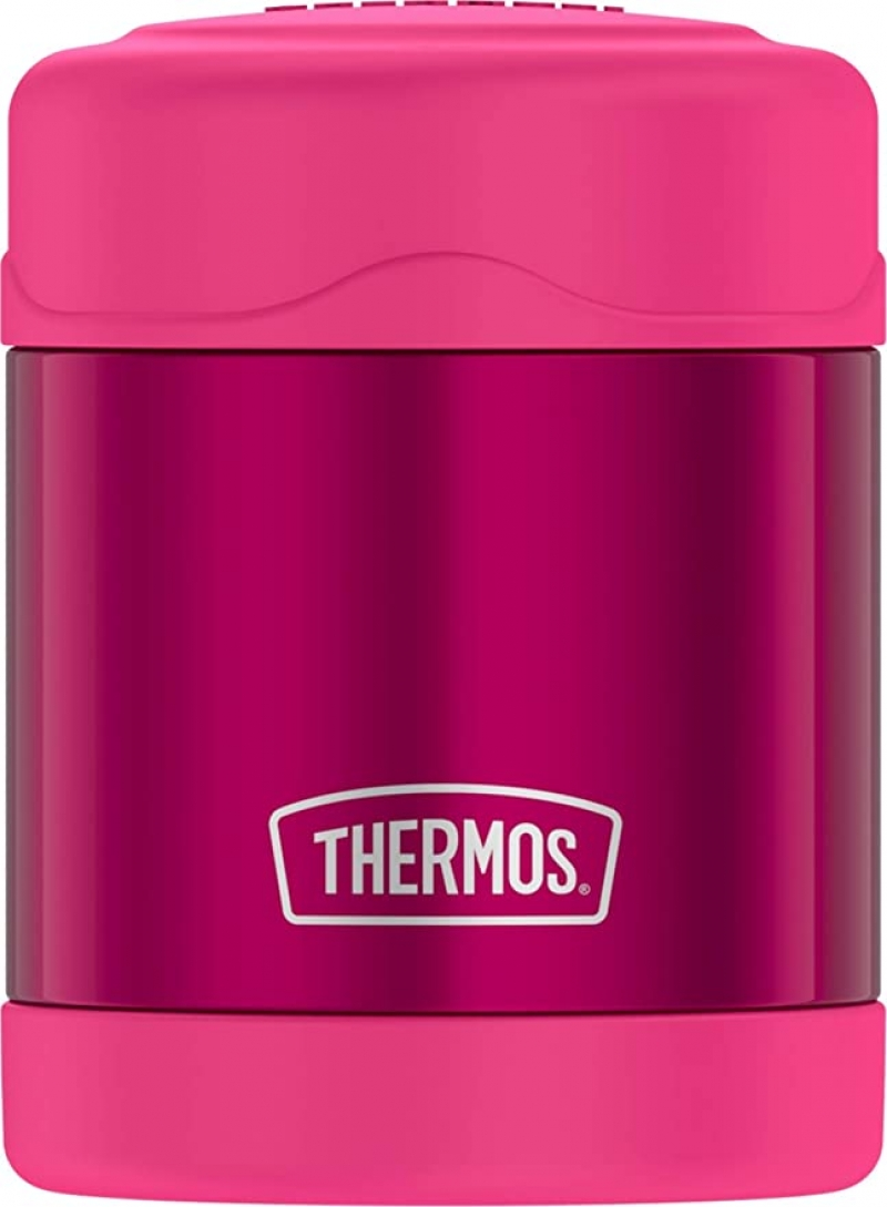 ihocon: Thermos Funtainer 10 Ounce Food Jar, Pink 膳魔師保温便當