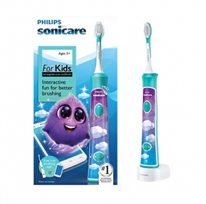 ihocon: Philips Sonicare for Kids Rechargeable Electric Toothbrush, Blue HX6321/02 飛利浦兒童電動牙刷