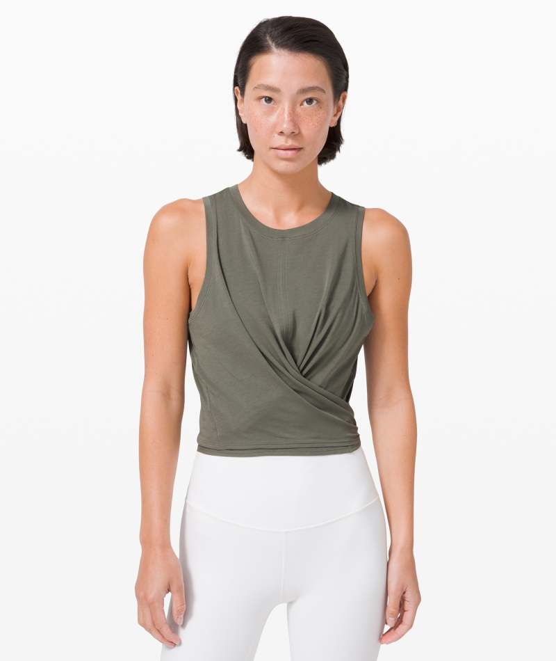 ihocon: Lululemon Time to Restore Tank 女士無袖衫