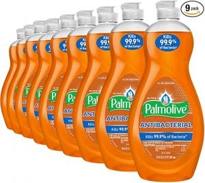 Palmolive 抗菌洗碗精 20oz 9瓶 $17.82(原價$26.91)