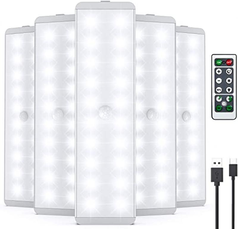 ihocon: Lightbiz LED Dimmer USB Rechargeable Closet Light with Remote Control (5 Pcs) 充電式, 可搖控櫥櫃燈