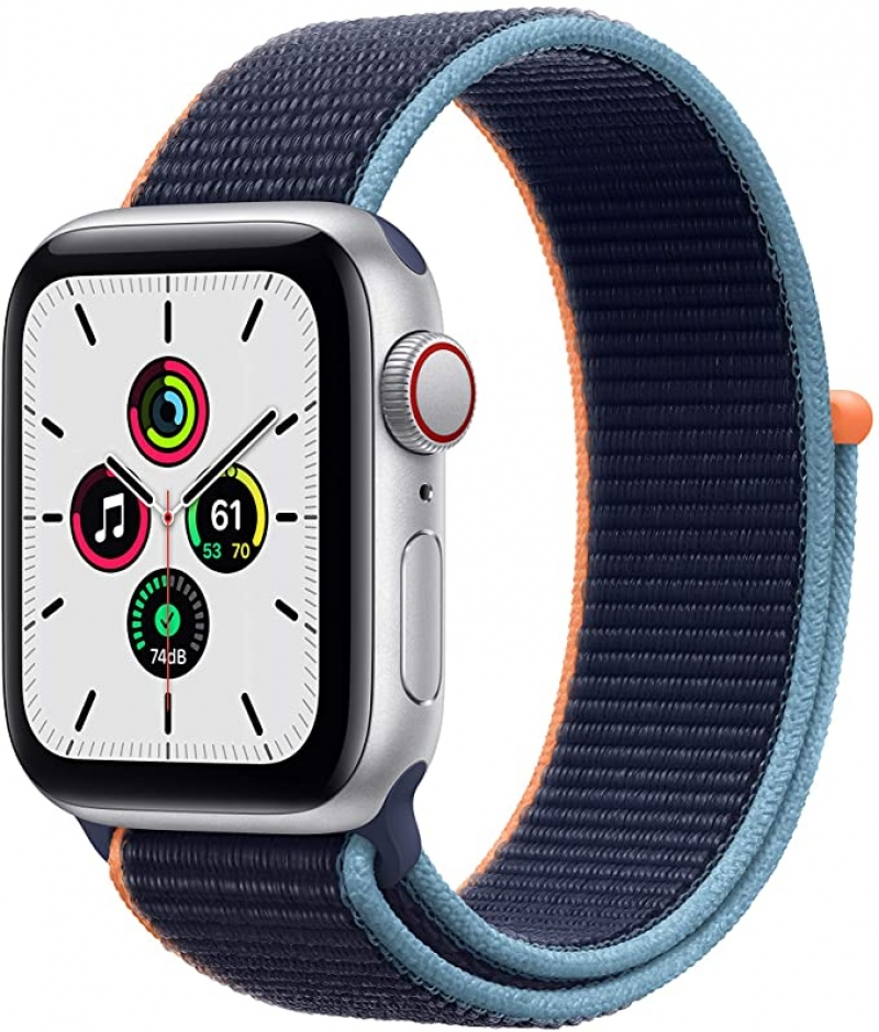 [最新款] Apple Watch SE (GPS + Cellular, 40mm) $309免運(原價$329)