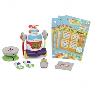 ihocon: Little Tikes STEM Junior Builder Bot with 4 Hands機器人學習玩具