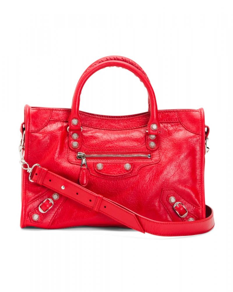 ihocon: BALENCIAGA Made In Italy Leather City Satchel 義大利製皮包