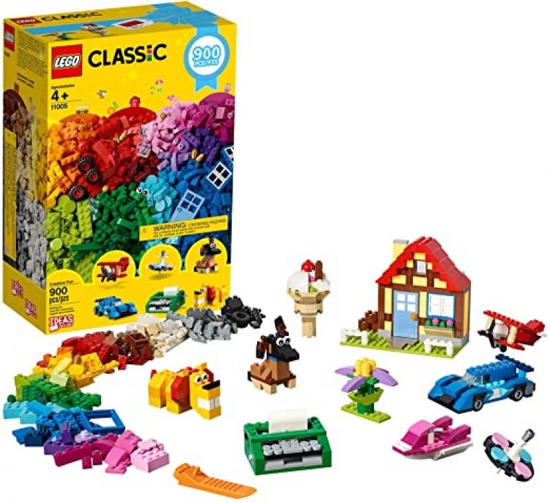 ihocon: [2020新款] LEGO Classic Creative Fun 11005 Building Kit, New 2020 (900 Pieces)