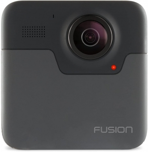 ihocon: GoPro Fusion 360 Waterproof Digital VR Camera with Spherical 5.2K HD Video 18MP Photos 防水運動相機