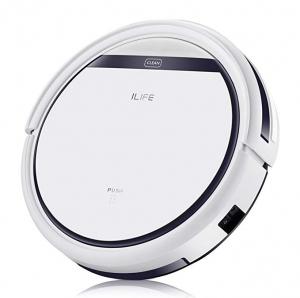 ihocon: ILIFE V3s Pro Robotic Vacuum Cleaner (Pearl White) 吸地機器人