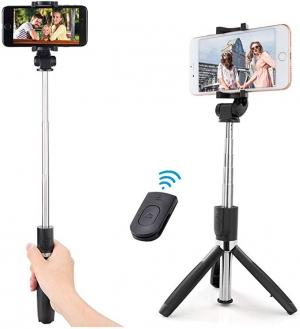 ihocon: Sweego 3 in 1 Selfie Stick Phone Tripod 3合1自拍杆