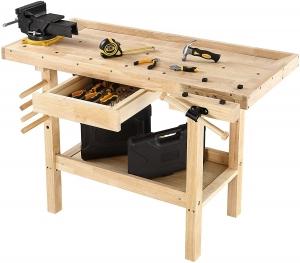 Olympia Tools 木製工作桌 $109免運(原價$125.73)