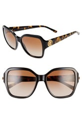 ihocon: TORY BURCH Reva 56mm Square Sunglasses太陽眼鏡