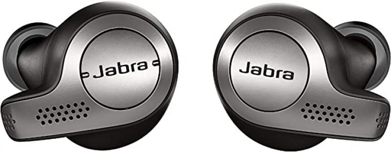 ihocon: Jabra Elite 65t Alexa Enabled True Wireless Bluetooth Earbuds with Charging Case (Titanium Black) 真無線耳機