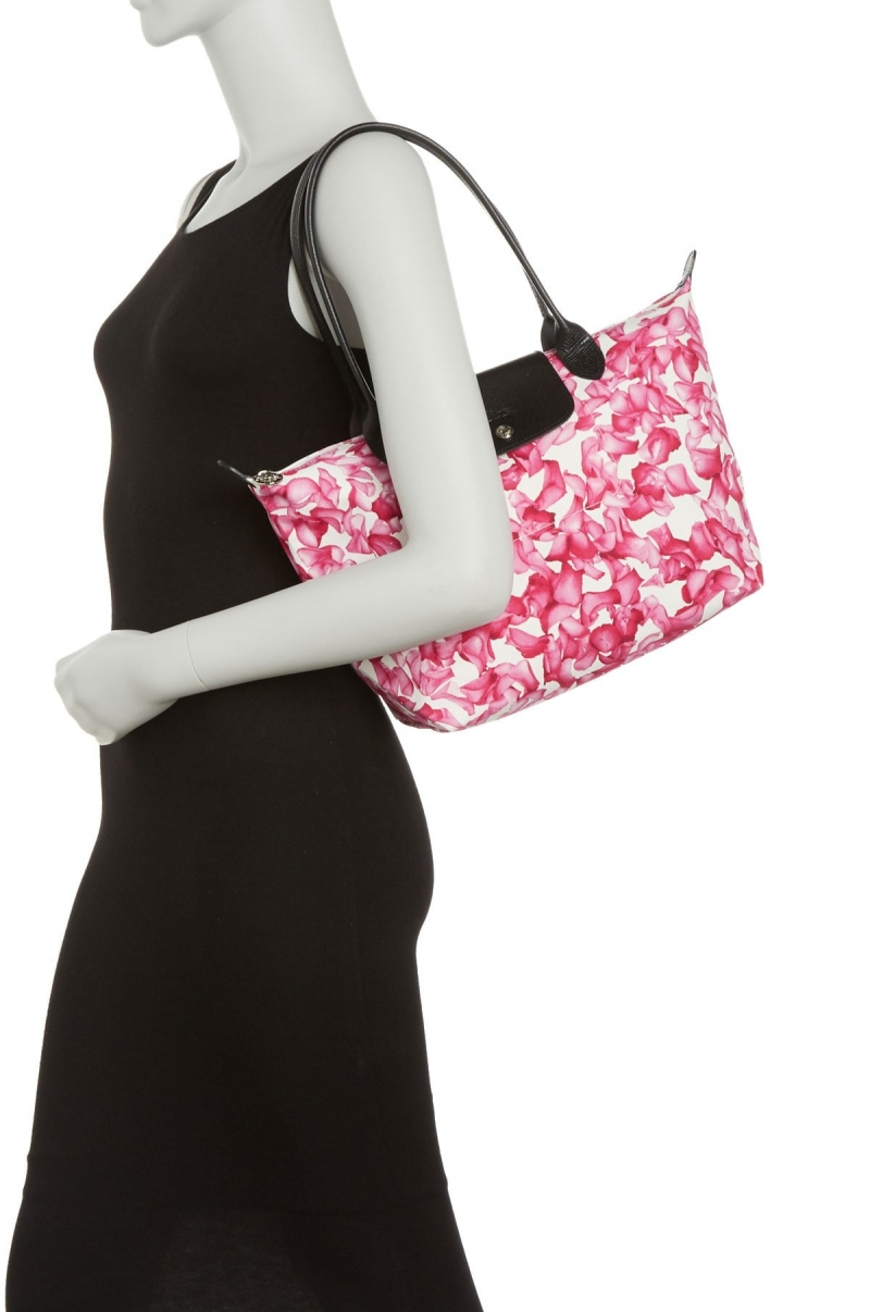 ihocon: LONGCHAMP Le Pliage Neo Leather Trimmed Top Handle Tote 包包