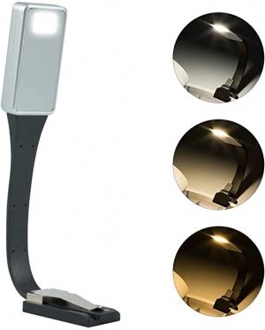 ihocon: Pinshion 3000K Warm LED Bookmark Book Light Rechargeable充電式夾式LED書燈