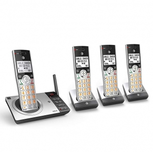 ihocon: AT&T DECT 6.0 Expandable Cordless Phone with Answering System 無線家用電話, 含答錄功能