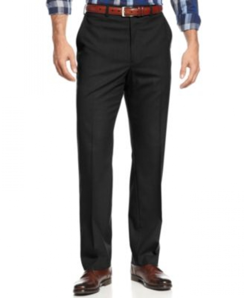 ihocon: Michael Kors Men's Solid Classic-Fit Stretch Dress Pants 男士長褲-多色可選